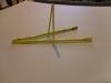 Pingpong asztal kerekes háló tartó vas beltéri.